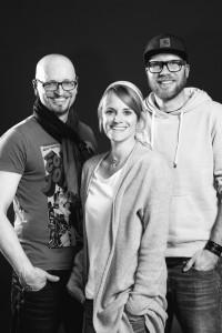 Christian Vogel, Anne Berwanger, Nick Frank