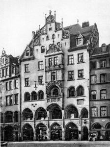 Max Ostenrieders Privathaus am Marienplatz