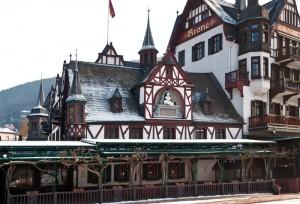 Das Gasthaus und Hotel Krone in Assmannshausen