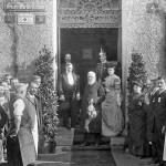 Prinz Ludwig, später Ludwig III., besucht die k.b. Hof-Handschuhfabrik Roeckl, 1906 (Foto: Privatbesitz Familie Roeckl)