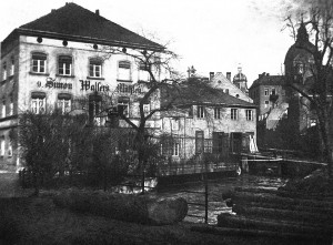 Walsermühle mit Hacklmühlbach, um 1898