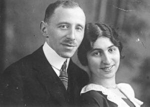Die Eltern Carl und Carola Koppel in den 1920er Jahren.