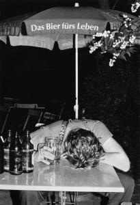 Biergarten-Saison: Nur nicht maßlos werden… (Foto: Volker Derlath)