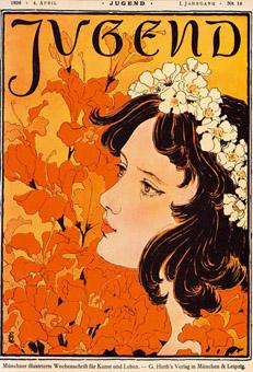 Der Name Jugendstil stammt von der Kunst- und Literaturzeitschrift Jugend, die zwischen 1896 und 1940 in München erschien.