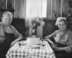 Das Ehepaar Lehner wohnte bis Anfang der 1960er Jahre in seiner Herberge An der Schwaige 8. (Foto: Timeline Images/MargretDwo)