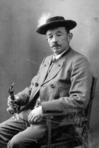 Georg Eisenberger (1863-1945), Vorsitzender des Bayerischen Bauernbundes, um 1905.