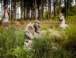 Gethsemane-Garten auf dem Annaberg/Anenský vrch (Böhmisches Niederland) (Foto: Sebastian Weise)
