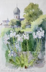 Aquarell Glockenturm