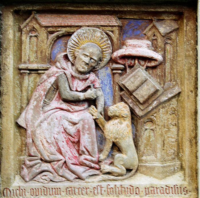 Hieronymus im Gehäus aus Tückelhausen