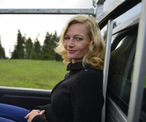 Die Autorin Julie Fellmann liest am 8. Dezember 2014 im Polizeipräsidium München