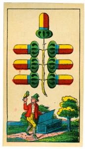 Die dritte Kritische, der Eichel-Siebener, im Bayerischen Einfachbild