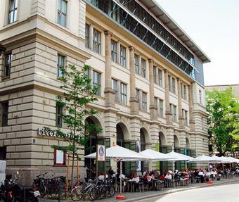 Das Literaturhaus München am Salvatorplatz