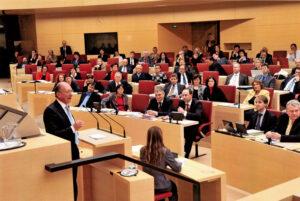Franz Maget antwortet auf die erste Regierungserklärung von Ministerpräsident Horst Seehofer im BBayerischen Landtag.