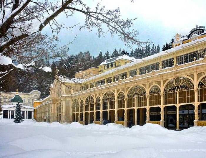 Marienbad/Mariánské Lázně im Winter (Egerland) (Foto: Erich Hemmel)