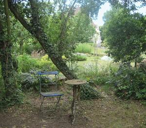 Mitten in der Stadt liegt die Gärtnerei Mussärol mit verwunschenen Plätzen inmitten der weitläufigen Anbauflächen.