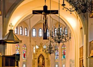 Innenraum der Stadtkirche St. Andreas (Foto: Fotoclub Selb)