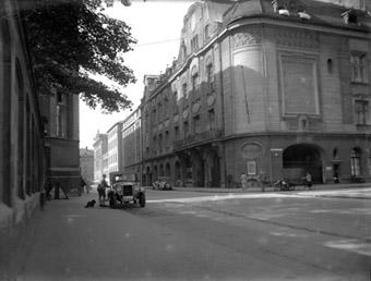 Blick auf die Tonhalle aus dem Jahr 1930.