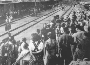 Wiesau war die Grenzstation für die Vertreibungszüge aus dem Egerland.