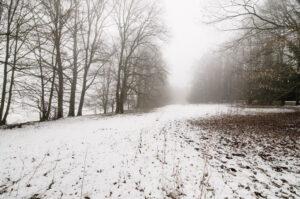 Winterlandschaft bei Dachau
