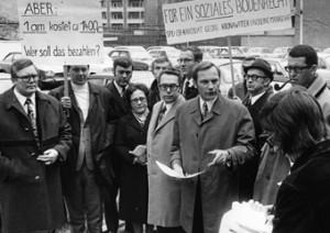 Im OB-Wahlkampf 1972 noch voll im Einsatz - 1978 stand er nicht mehr zur Verfügung (Foto: Rudolf Branko Senior).